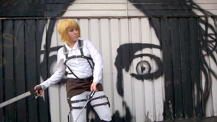 SNK Cosplay GIF