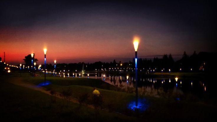 Lights of Koszalin. :)