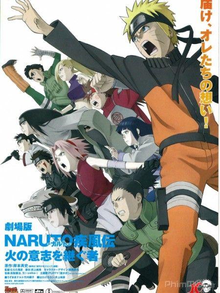 Naruto: Người kế thừa Hỏa chí - Naruto Shippuuden Movie 3: Inheritors of the Will of Fire