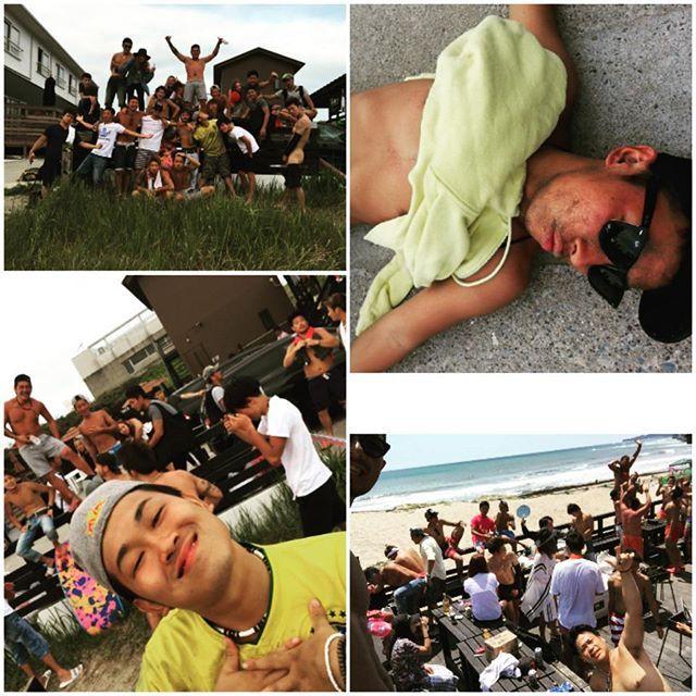 【hidetoki_saito】さんのInstagramをピンしています。 《御宿BBQ! 楽しかった!ありがとう! #御宿 #ビーチサイド #BBQ #海 #みんな個性が強い #この日の名言は #K氏の #愛がやまねぇ #楽しかった #ありがとう #みんな好き》