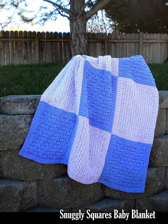 Easy Knitting Patterns For Blanket Squares : 190 best images about Aunt Janet Knitting & Crochet Designs on Pinterest ...