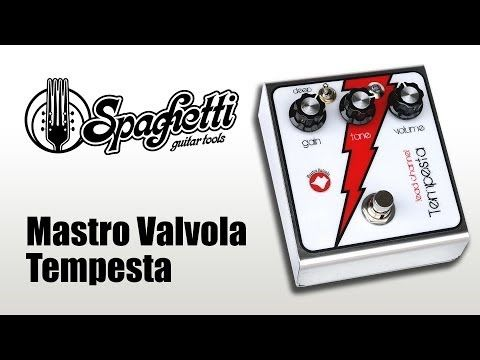 Raffaele Carano Demo Video Mastro Valvola Tempesta www.spaghettiguitartools.com