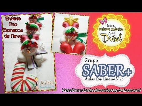 muñecos de nieve con cacha caramelo