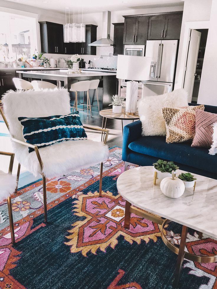 26 Bohemian Living Room Ideas: 26+ Funky Boho Comfy Bedroom