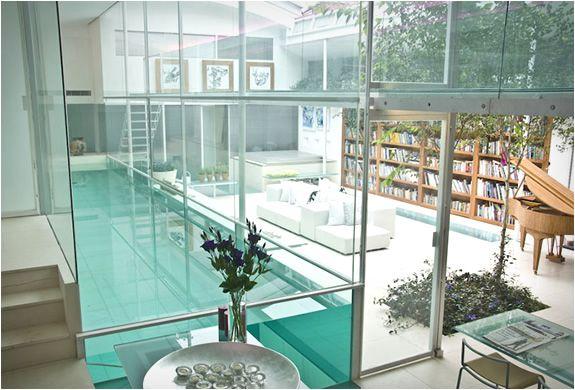 Indoor Glass Swimming Pool in London UK (8)