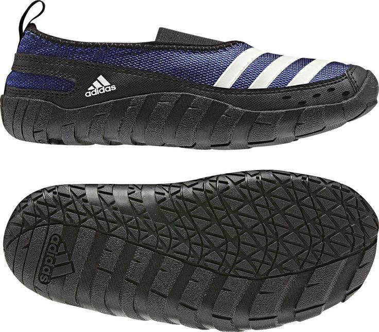 adidas Outdoor Jawpaw Kids Water Shoe - Prime Ink Blue/Black/Spray - 3. Open mesh nylon for best breathability and quick drying. Sustainable content, Environmentally developed pattern.