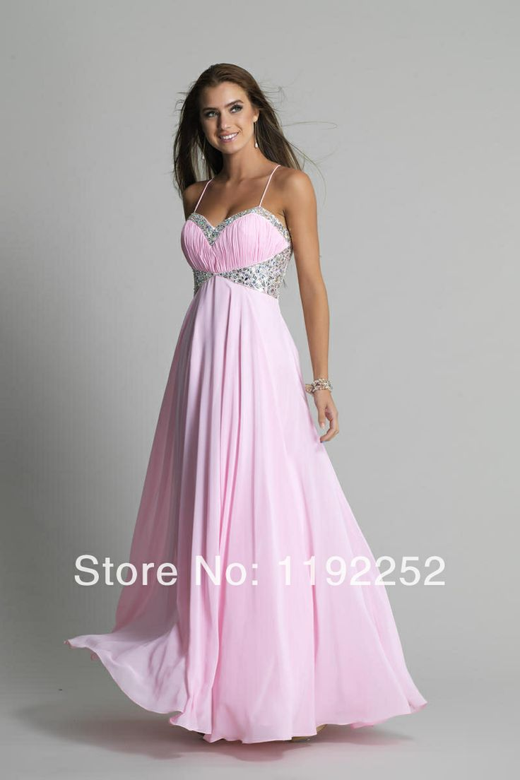 19 best pink prom dress images on Pinterest | Party wear dresses ...