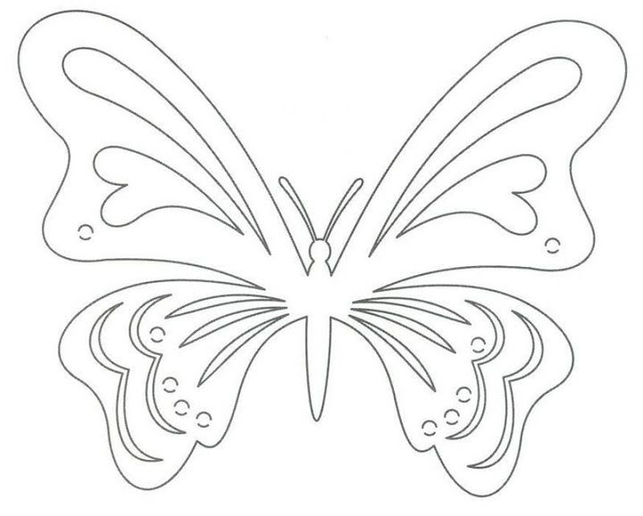 850 Best * Butterfly Silhouettes, Vectors, Clipart, Svg, Templates