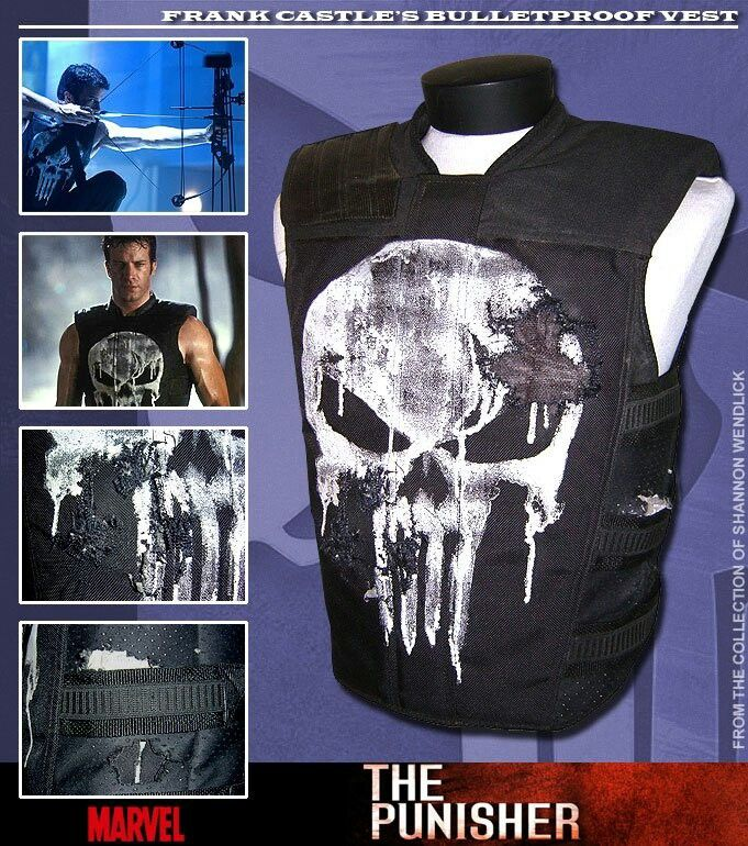 Vests, Punisher 2004 and Punisher on Pinterest