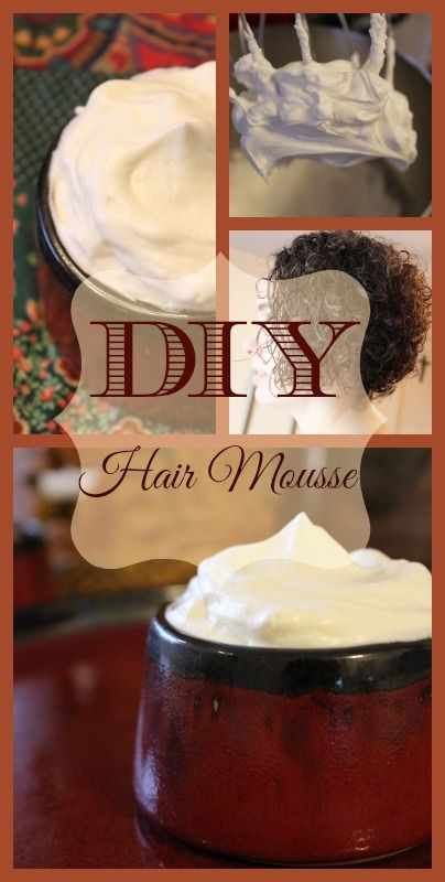 DIY Hair Mousse for Glossy, Healthy Curls | TheSweetPlantain.com