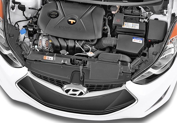 Hyundai Elantra Coupe 2013: Photos, Specs & Brief Review: ENGINE!
