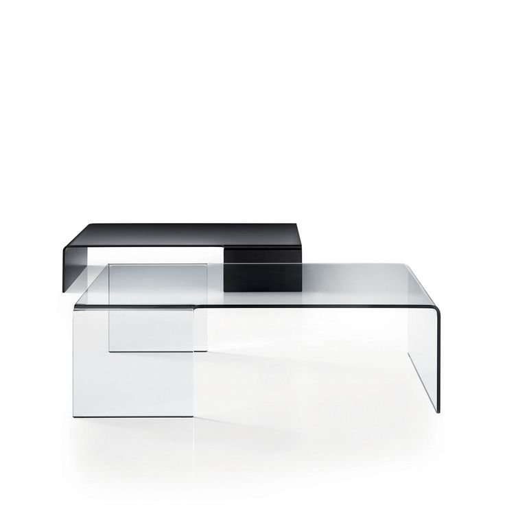 Spider Curved Glass Coffee Table   Klarity