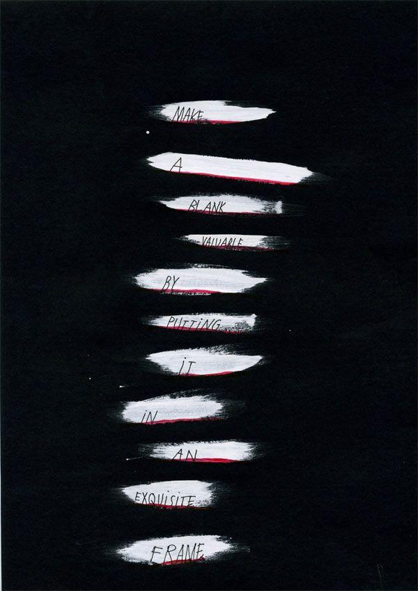 Brian Eno and Peter Schmidt – Oblique Strategies, 1974. Design by Kalle Matsson