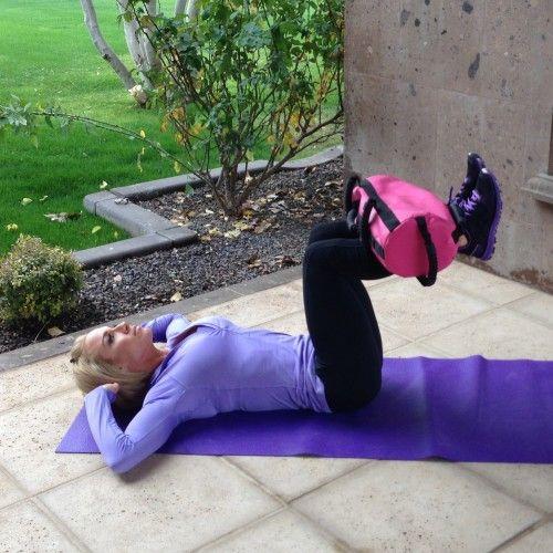 Get it Right Keep it Tight Sandbag Workout | Tiffany Lee Gaston