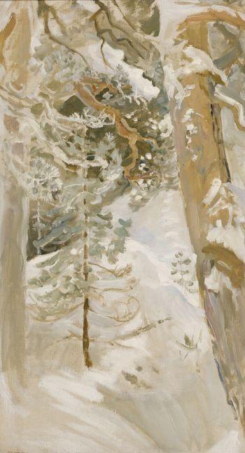 Winter Landscape - Akseli Gallen-Kallela 1900