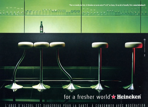 Heineken print ad | repinned by www.BlickeDeeler.de