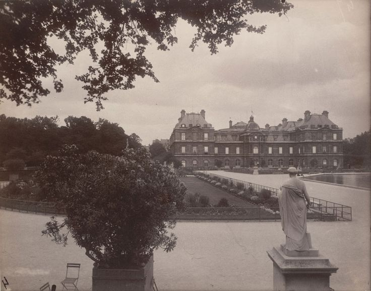 Eugene-Atget-Luxembourg