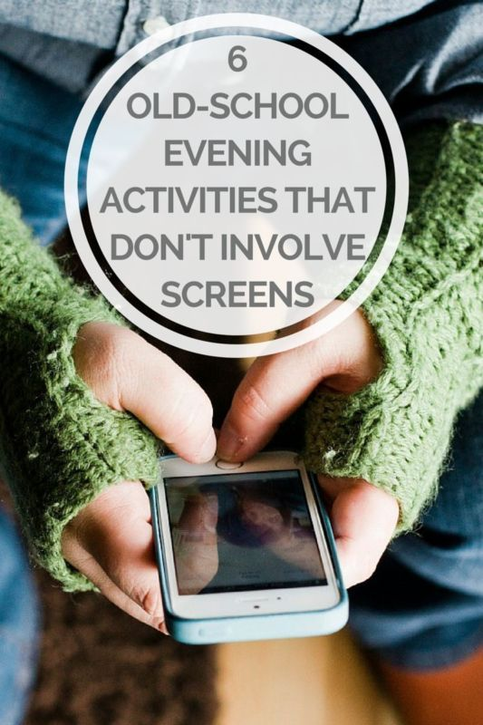 Some old-school evening activities that don't involve screens that you can do with your family this summer.