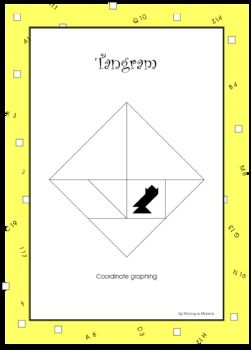Coordinate Graphing - Tangram Grid. This resource contains a grid with ...
