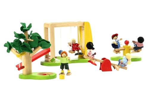 Dolls playground set