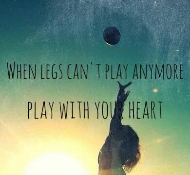 This may have been meant for volleyball, but it applies to most sports.