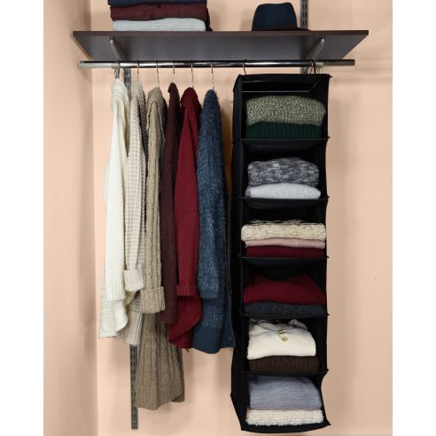 Instantly Add Valuable Shelf Space To Your Closet With A Set Of Sturdy,  Ready To Install Hanging Closet Organizers. A Great Way To Store Everything  From ...