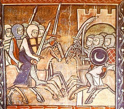 BOHEMUNDO DE TARENTO .Príncipe de Tarento y de Antioquía, hijo de Roberto Guiscardo, duque de Apulia y de la Calabria. Después de la muerte de su padre, a quien secundó dignamente en una campaña contra el emperador griego Alejo, heredó en 1085 el principado de Tarento. Se unió a los primeros cruzados, apoderándose de Antioquía y haciendo de esta ciudad un principado que duró 190 años.