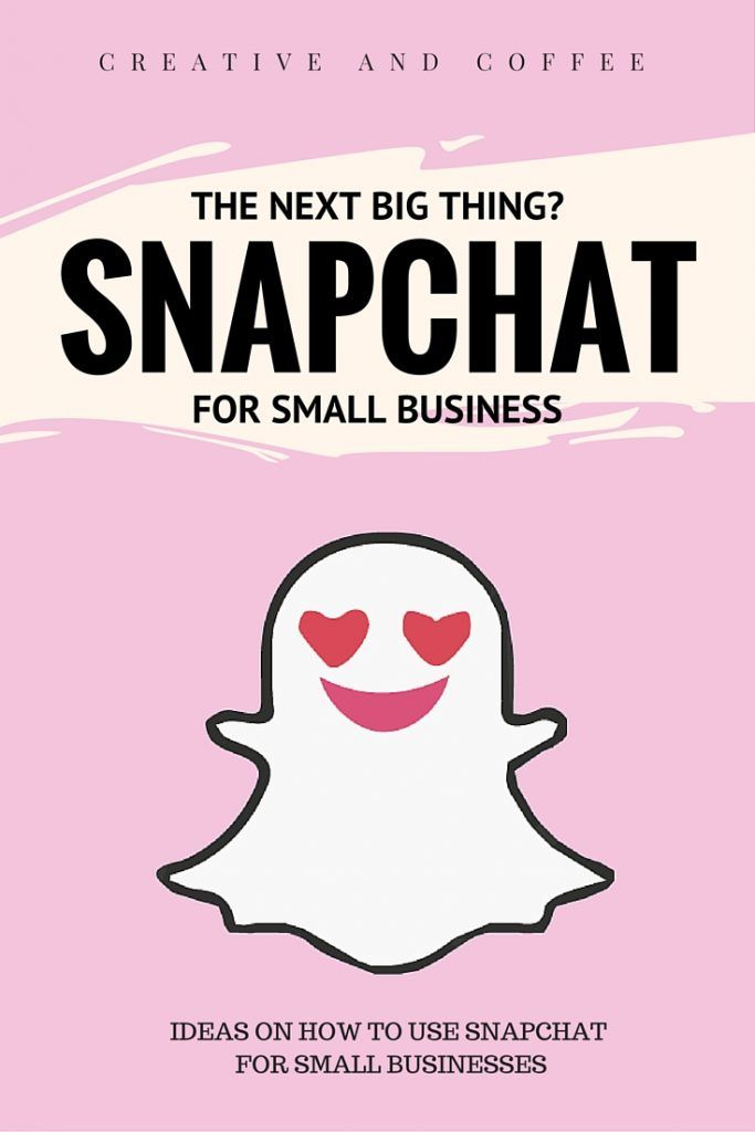 Snapchat is exhibiting some pretty interesting signs and looks set to enter the mainstream. Here are a few ways to use Snapchat for your small business so you are ready when Snapchat really hits the mainstream. via @creativencoffee