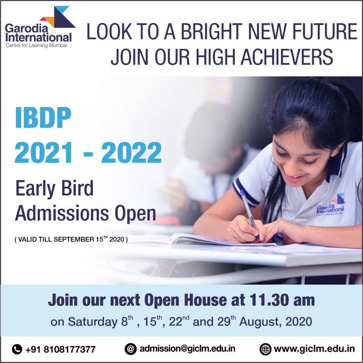 Ibdp Admission Open 2021 22 Admissions International School School Admissions