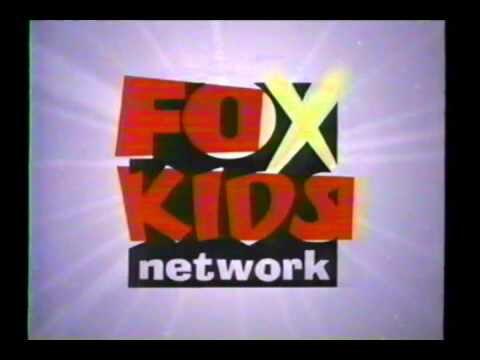 fox kids network tv logo childhood nostalgia pinterest