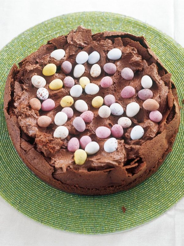 Easter Egg Nest Cake | Nigella's Recipes | Nigella Lawson