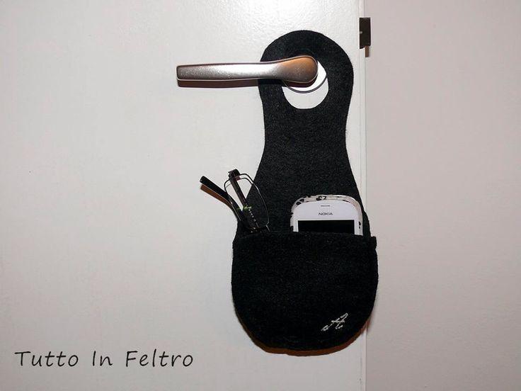 174 fantastiche immagini su custodia porta cellulare for Porta kleenex feltro
