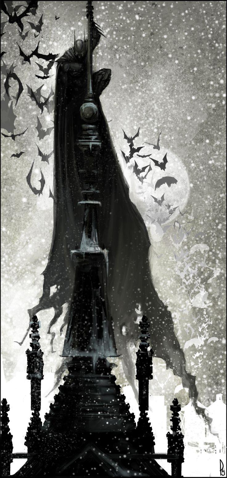 The Dark Knight by ~Happy-Mutt