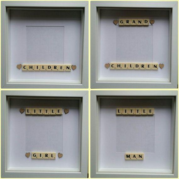 323 best box frames images on pinterest scrabble frame craft family scrabble frame keepsake birthday by treasuredmoments14 negle Choice Image