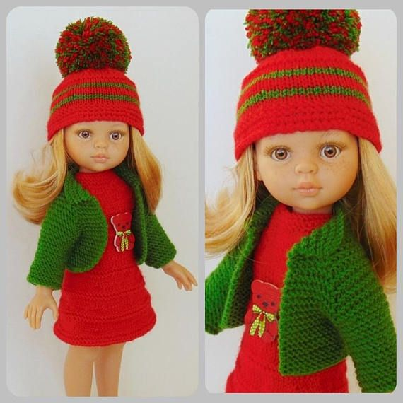 Paola Reina outfit Paola Reina doll sweater doll hat
