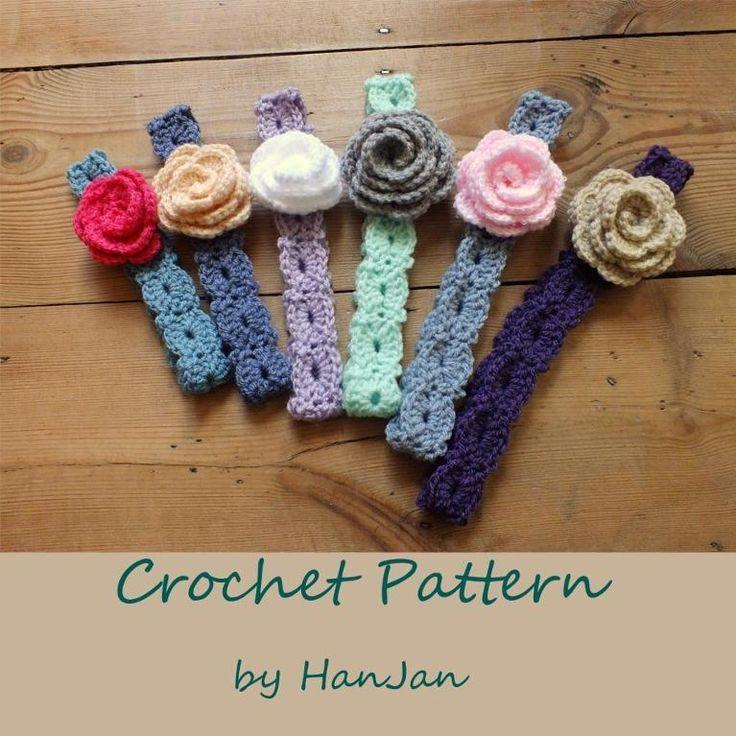 Free Crochet Headband Patterns | Flower Headbands: … by HanJan Crochet | Crocheting Pattern
