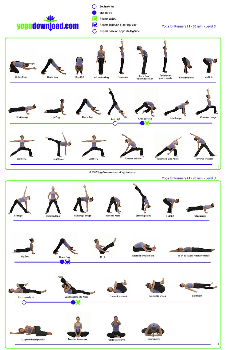 Yoga poses for beginners printable - The Most Awesome Images On The Internet