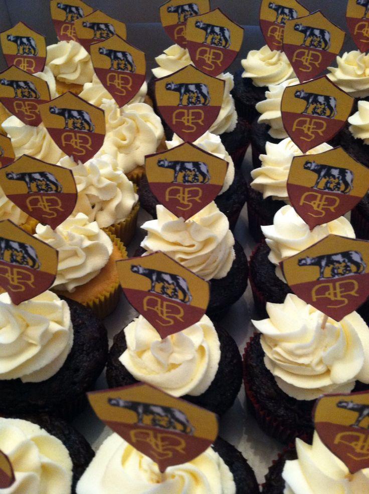 AS Roma cupcakes