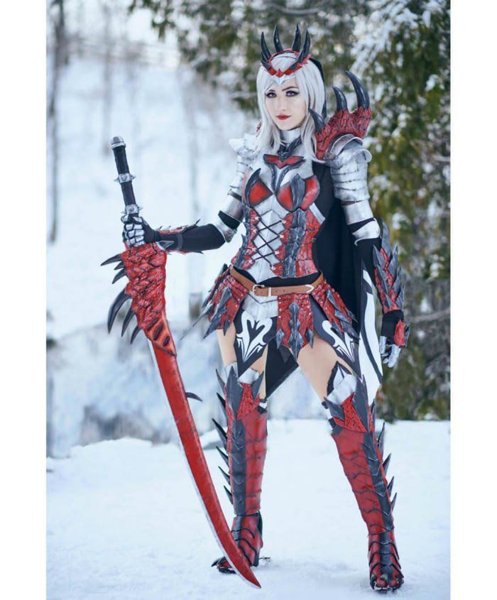 Monster Hunter Dreadking Rathalos Armor By Luxlo Cosplay Monster