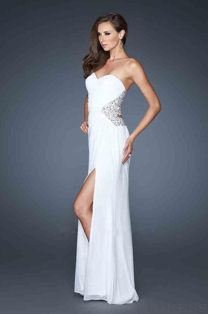 La femme 17544 dress in white quotes