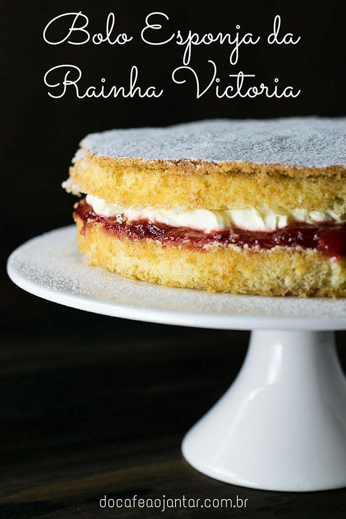 Bolo Esponja da Rainha Victoria | Do Café ao Jantar                                                                                                                                                                                 Mais