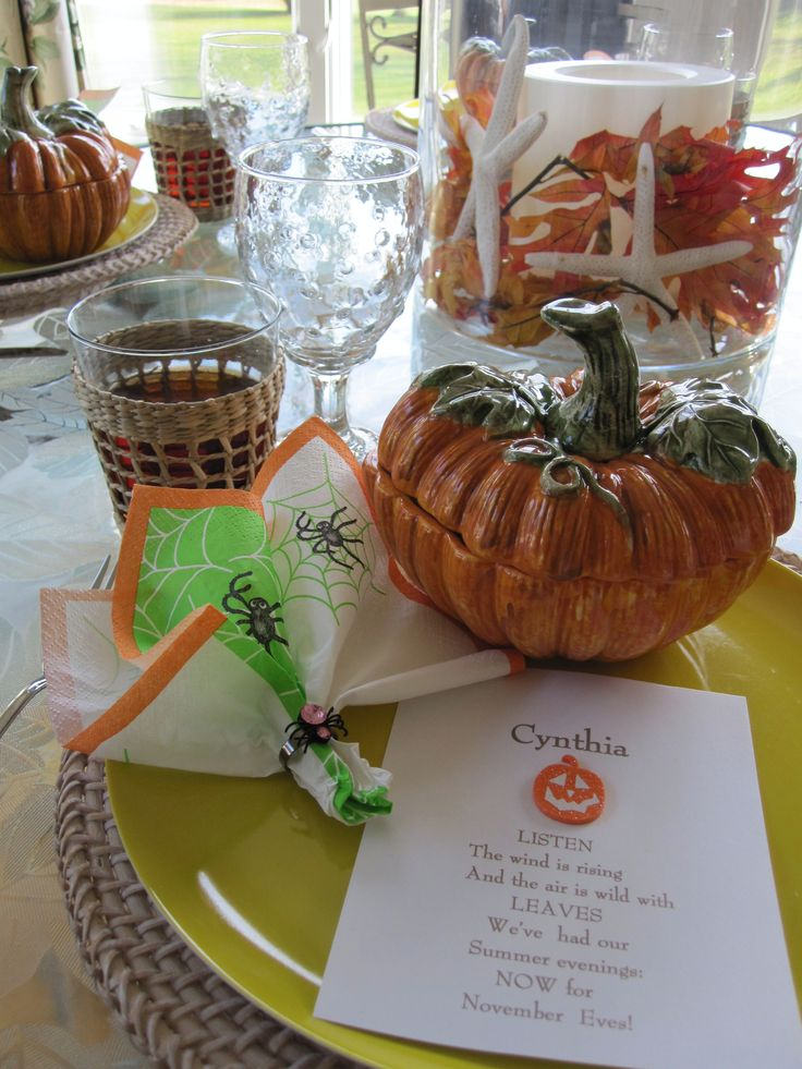 Fall luncheon 2011 things i ve done pinterest
