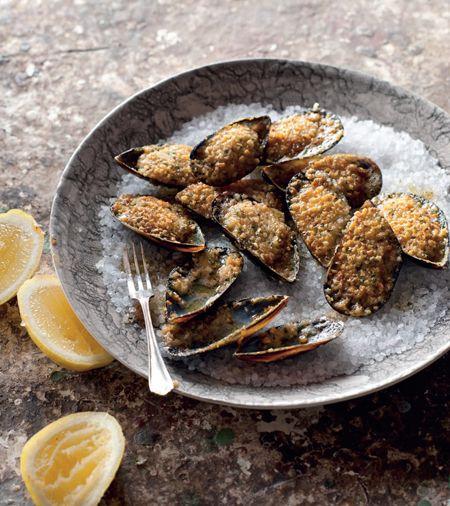 Hazelnut Mussels