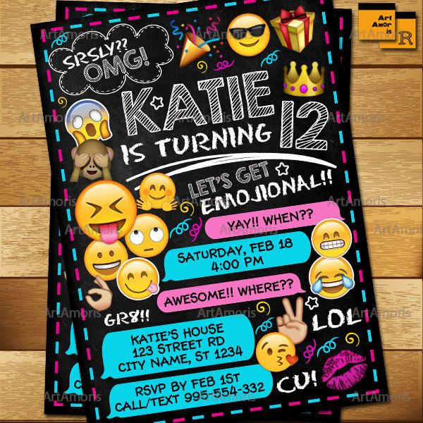 Best 25+ Teen Birthday Invitations Ideas On Pinterest