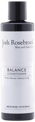Josh Rosebrook Balance Conditioner A light, volumizing conditioner formulated for All Hair Textures with Normal to Oily scalp conditions. Pure plant oils and active herbal infusions work in harmony to effectively soften and increase volume. Aloe vera and rich fatty acids seal in moisture, smooth, add shine and protect the hair shaft, scalp and follicle. ""