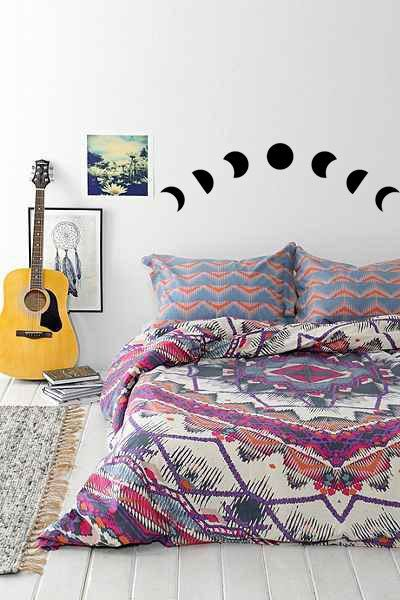 Moon Phases Calendar WallSticker  Moon cycles by TotalVinylDesign