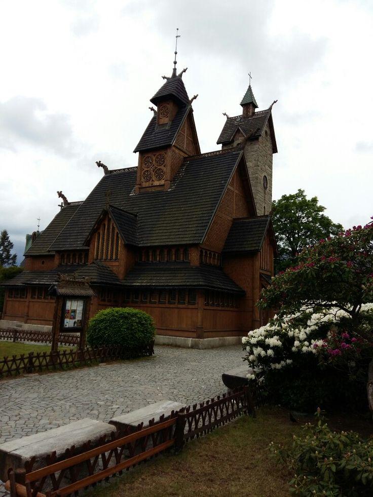 Noorse kerk in Wang