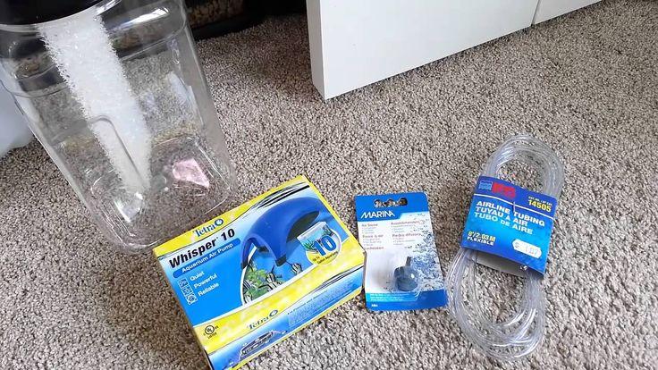 DIY Terrarium Humidifier / fogger / mister for reptile habitat... great for my Chameleon ;)