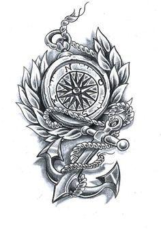 84 best compass images on pinterest tattoo designs. Black Bedroom Furniture Sets. Home Design Ideas