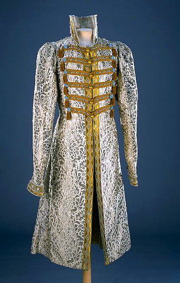 Fancy Dress of Prince F.F.Yusupov: caftan Fancy Dresses for the Winter Palace…